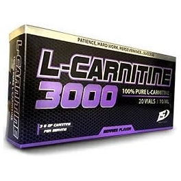 Iron Supplements L-Carnitina 3000 100 % Pura 20 viales