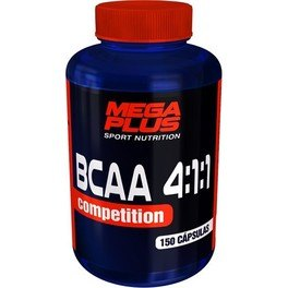 Mega Plus Bcaa 4:1:1 Competition  150 Caps