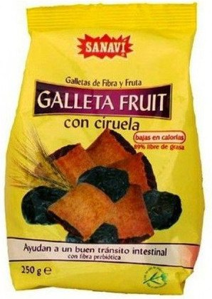 Sanavi Gallefruit Galleta Ciruela 250