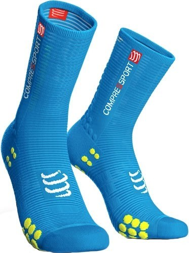 Compressport Calcetines Pro Racing Socks V3.0 Bike Ice Blue