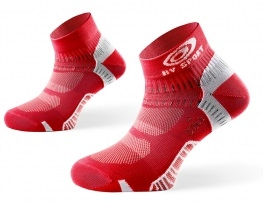 BV Sport Calcetin Running Light One Rojo