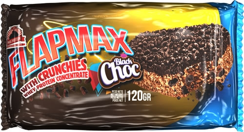 Max Protein FlapMax - FlapJack con Chocolate Crujiente 1 barrita x 120 gr