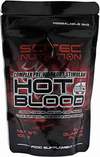 Scitec Nutrition Hot Blood 3.0 100 gr