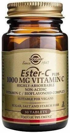 Solgar Ester-C Plus 1000 mg 30 comp
