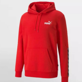 Puma Power Hoodie High Risk Red. 589411 11. Red.