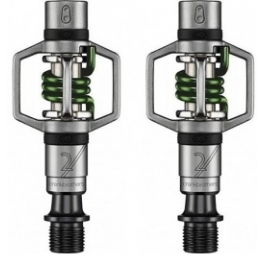 Crank Brothers Pedales Egg Beater 2 Plata - Verde