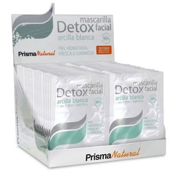 Prisma Natural Mascarilla Detox Facial 50 sobres x 25 ml