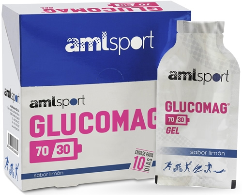 Amlsport Glucomag 70/30 10 geles x 30 ml