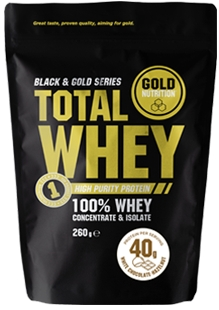 Gold Nutrition Total Whey 260g