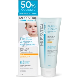 - Mussvital Dermactive SPF20 Pieles Atopicas 75 ml