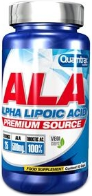 Quamtrax nutrition Alpha lipoic acid 50 caps.