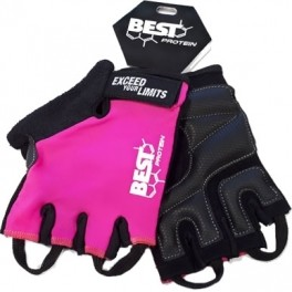 Best Protein Guantes Fitness Rosa