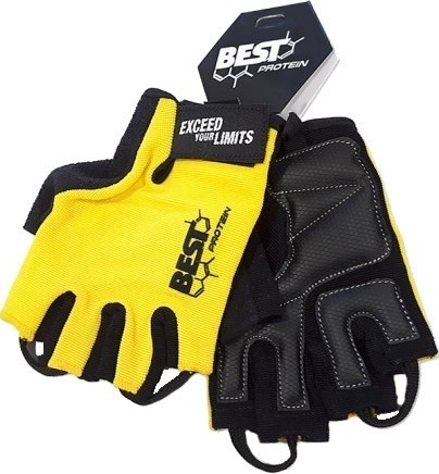 Best Protein Guantes Fitness Amarillo