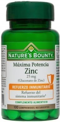 Nature´s Bounty Zinc 25 mg 100 compr
