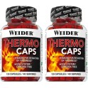 Pack Weider Thermo Caps 2 botes x 120 caps