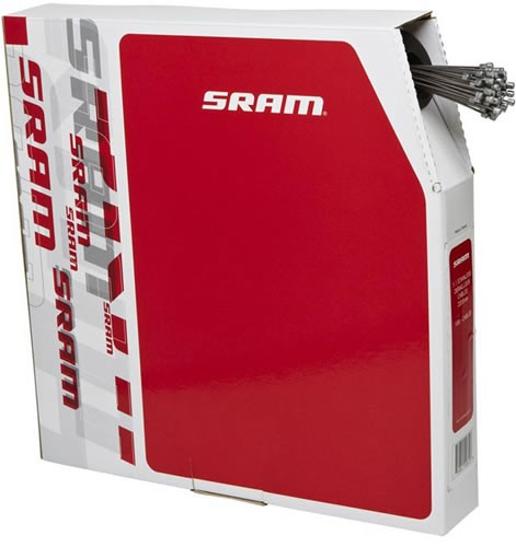 Sram Cable Cambio 1.1 mm Acero Inoxidable 2 m 100 unds