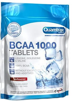 Quamtrax Direct BCAA 1000 500 Tabletas