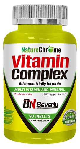Beverly Nutrition Vitamin Complex 90 tabs