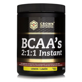 Cad.31/05/20 Crown Sport Nutrition Bcaa 2:1:1 Instant 210 G