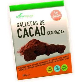 Soria Natural Galletas De Chocolate 200 Gr Sin Gluten