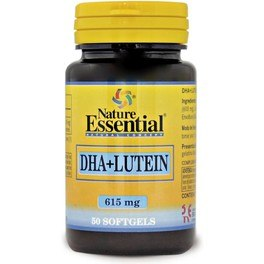 Nature Essential Dha + Luteina 615 Mg 50 Perlas