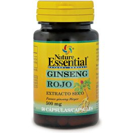 Nature Essential Ginseng Rojo 500 Mg Ext Seco 50 Caps