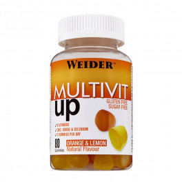 Weider Energy Boost Gummies Multivit 80 Gom.