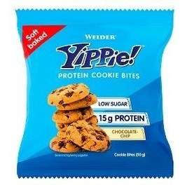 Weider Yippie Cookie Bites Oatmeal-chocolate Chip 50 G
