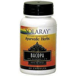 Solaray Bacopa 100 Mg 60 Vcaps