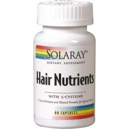 Solaray Hair Nutrients 60 Caps