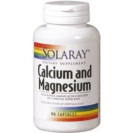 Solaray Calcium And Magnesium 90 Vcaps
