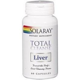 Solaray Total Cleanse Liver 60 Vcaps