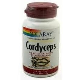 Solaray Cordyceps Extracto 500 Mg 60 Caps
