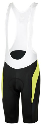RH+ Space Bibshorts-Culote SS18 Negro-Amarillo