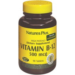 Natures Plus Vitamina B12 500 Mcg 90 Comp