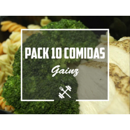 Feedness Meals  Pack Gainz 10 platos Ganar Volumen