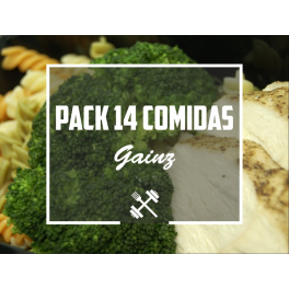 Feedness Meals  Pack Gainz 14 platos Ganar Volumen