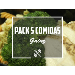 Feedness Meals  Pack Gainz 5 platos Ganar Volumen