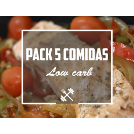 Feedness Meals  Pack Low Carb 5 platos