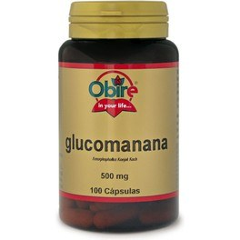 Obire Glucomanana 500 Mg 100 Caps