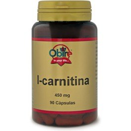 Obire L-carnitina 450 Mg 90 Caps