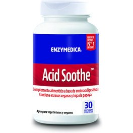 Enzymedica Acid Soothe 30 Vcaps
