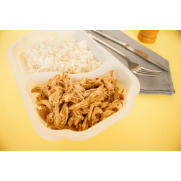 Feedness Meals  Pulled Chicken Breast Con Arroz Basmati (Lifestyle)