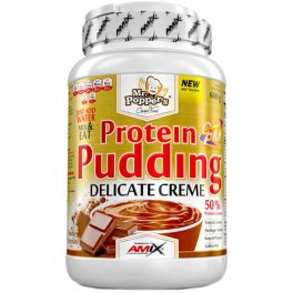 Amix Protein Pudding Cream Mr Poppers 600 gr