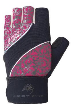 Chiba Guantes Lady Proactive Gloves - Rosa-Gris
