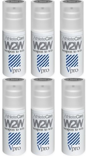 W2W VPro - Vaselina Deportiva Lubricante Anti-Fricción 6 Botes x 90 ml