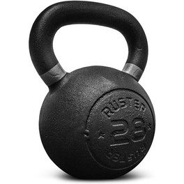 Ruster Kettlebell Cast Iron 20 Kg Pesa Rusa Musculación Cross Training