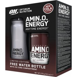 Optimum Nutrition Essential Amino Energy 270 gr + Botella con Nucleo de Hielo 650 ml