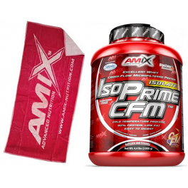 Pack Amix IsoPrime CFM Isolate 2 kg + Toalla Roja
