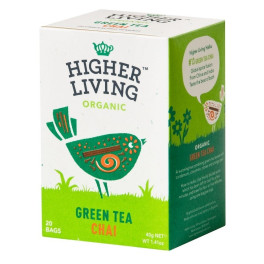 Higher Living Té Verde Chai 20 Bolsas